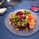 鉄板焼き 貴真 - 鎌倉野菜20種のサラダ