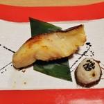 87603556 - ・銀鱈 西京焼 980円。