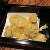 竹泉 - 料理写真:「小海老天ぷら」