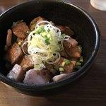 らぁ麺 紫陽花 - 炙り肉飯