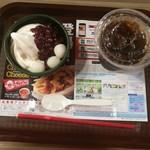 ウェンディーズ・ファーストキッチン - 白玉クリームぜんざい単品だと290円