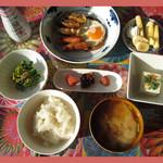 茶釜 セルフカフェ エルモット - 朝食セット