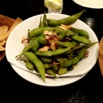 アジアンバル シャンティガーラ - ペペロンチーノ枝豆