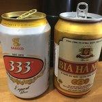 バインミーヴィエットナム - ベトナムビールも完備(きっとノンアル)