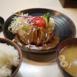和風グリルまるひこ亭 - 料理写真:ハンバーグ定食