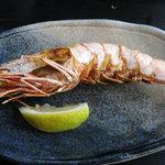 魚幸 - 車海老塩焼き
