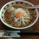 ラーメンめん丸 - 料理写真:味噌ラーメン 煮玉子