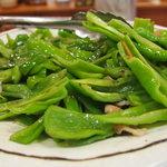 にじの耳納の里 レストラン夢キッチン - 料理写真:ピーマン