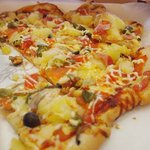 にじの耳納の里 レストラン夢キッチン - ピザ