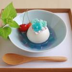 むすびcafé - 期間限定 紫陽花のケーキ