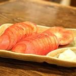 華 - ・トマトスライス 500円