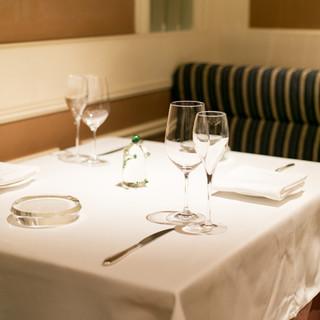 銀座の地で愛され続ける、クラシカルなフレンチ・レストラン