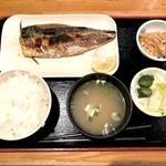 Kaisenizakayaebisuhommaru - 鯖塩定食(800円)
