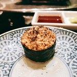 大胡椒 - これがガーリックライス海苔巻き様ね!