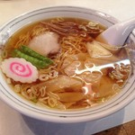 太白楼 - ワンタン麺 ¥650