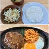 カレー&ハンバーグ やまと - 料理写真:シングルハンバーグセット 850円
