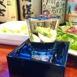 おーるどすぱいす - 日本酒 表面張力すごい