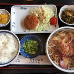 なかむらや - 料理写真:そば定食(700円)