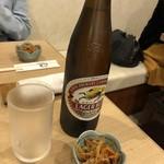 うなぎ 和友 - 瓶ビール
