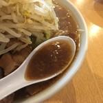 87626758 - 香ばしさとコクのあるスープ