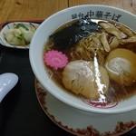 食道かわむら - 屋台中華そば420円(ネギ抜き