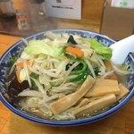 麺屋せんり - 料理写真:野菜ラーメン大盛