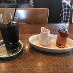 A TABLE ! - ランチのアイスコーヒー