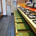 幸鮨 - 店内  カウンター席