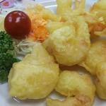 餃子の王将 - 海老の天ぷら