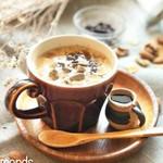 実身美 - 黒蜜と豆乳のきな粉ラテ