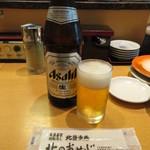 北のおやじ - 瓶ビール(中瓶) 680円(税別) (2018.6)