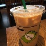 スターバックス・コーヒー - 豆乳シールが貼られてます。
