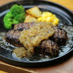 炭こう - 仙台牛ハンバーグ(ランチ限定)