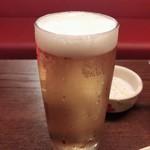 サイアム・タラート - グラスビール 150円