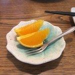 すし 笑魚亭 - デザート