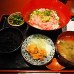 肴や 呉平 - ネギトロ丼定食