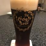 大淀河畔 みやちく - ひでじビール 月のダークラガー樽生