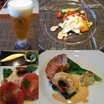 Restaurant la Raison - ディナーコース:前菜まで