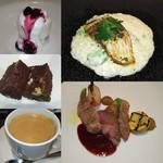 Restaurant la Raison - ディナーコース:デザートまで