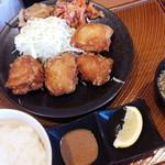 から好し - 料理写真:から好し定食(4個)(590円)