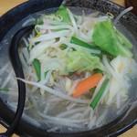 タンメンしゃきしゃき - タンメン野菜大盛700円(税込)