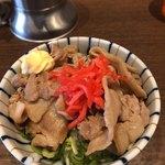 NOODLE CAFE SAMURAI - 限定の無料特製豚バラ丼