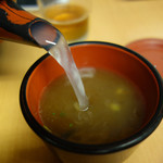 良寛 - 蕎麦湯も頂きました。