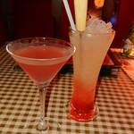 フェイマスドア - 乾杯のドリンク