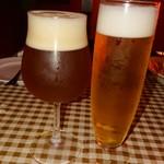 フェイマスドア - 2杯はビール