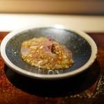菊鮨 - イサキの生姜餡