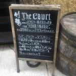 The Court - 看板2:店舗説明