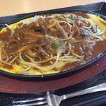 食彩処 百花 - 料理写真:インディアンカレーパスタ880円