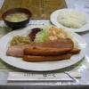 レストランばーく - 料理写真:「ベーコンステーキ定食」です。