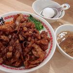 肉汁麺ススム - 肉汁丼レベル3(780円)